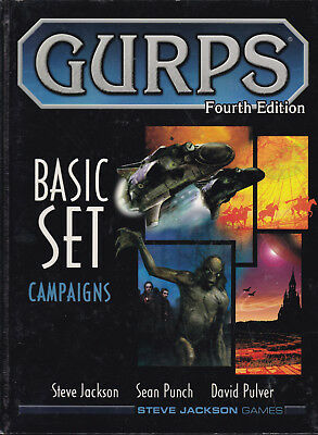 GURPS Fourth Edition. Basic Set Campaigns