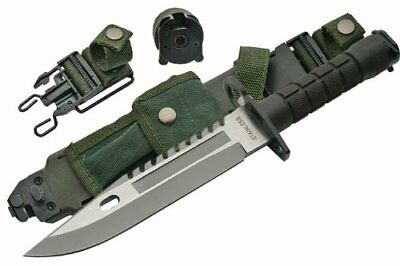New 12 inch M9 Bayonet Military Knife with strong stiching For survival blade