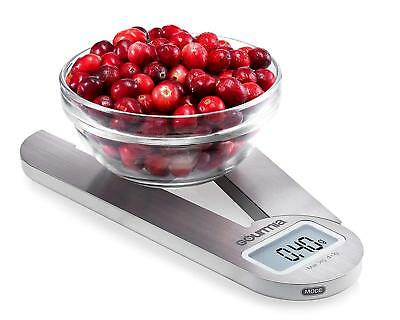 Gourmia GKS9160 Stainless Steel Folding Scale