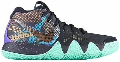 776971234181a5 Nike Kyrie 4 Mamba Big Kids AV3597-001 Black Venom Basketball Shoes Size 7