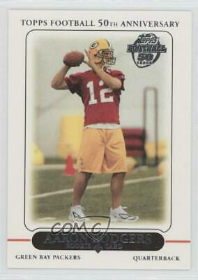 2010 Topps Rookie Reprints #431 Aaron Rodgers Green Bay Packers Football Card
