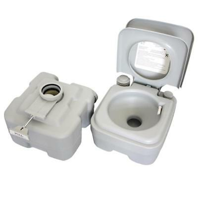 Portable Toilet Flush Travel Camping Outdoor  Potty Commode 10L 20L