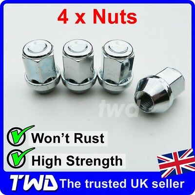4 x ALLOY WHEEL NUTS FOR FORD GALAXY 2006+ (COMPATIBLE FIT) STUD LUG BOLT [E10]
