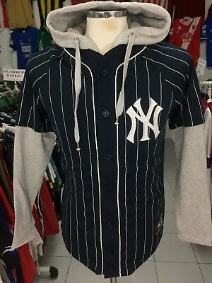 Trainingsjacke Baseball Trikot New York Yankees (S)  Kapuzenjacke Majestic MLB