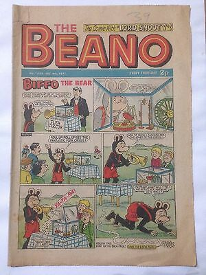 DC Thompson THE BEANO Comic. Issue 1533 December 4th 1971 **Free UK Postage**