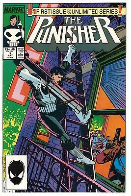 The Punisher #1 VF (Jul 1987, Marvel) 1st Issue of Unlimited Punisher Series.