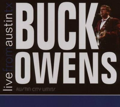 Buck Owens Live From Austin Tx 2007 Country Cd Brand New