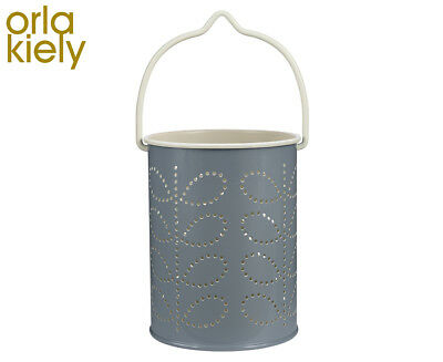 Orla Kiely Tealight Lantern - Linear Stem/Grey