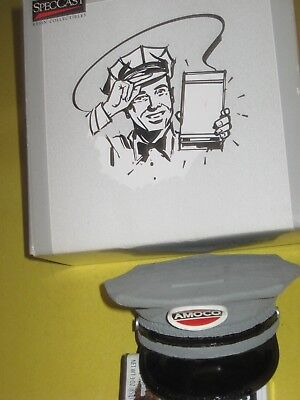 AMOCO Gas Attendants Coin Bank Hat -Milk Man-Gas Station -Delivery man Hat