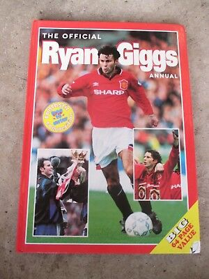 The Official Ryan Giggs Annual 1996 Manchester United Football