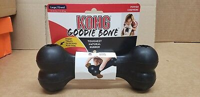 Kong Extreme Goodie Bone Medium Toughest Natural Rubber For Power Chewers Dog L