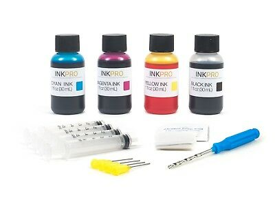 InkPro Premium Ink Refill Kit for Canon PG-245, CL-246, PG-245XL, CL-246XL