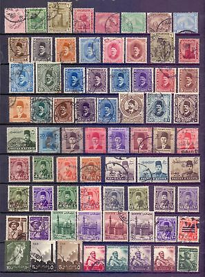 Egypt  Selection of 241, mainly used.