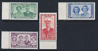 Bechuanland     Sc 143-146      Sg 132-135        Mint Never Hinged