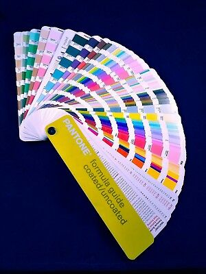 Pantone Color Formula Guide Coated & Uncoated  First Edition 2001 Fan 3rd print