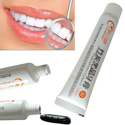 Dental Care Activated Black Toothpaste Bamboo Charcoal Tooth Cleaning Whitening