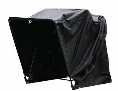 Blcak  Three Size  Garage Shelter Heavy Duty Motorcycle Storage Shed Cover Tent