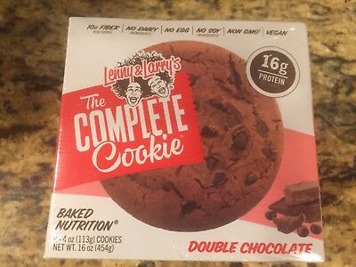 """Lenny & Larry's The Complete Cookie """"Double Chocolate"""" 4 pack"""