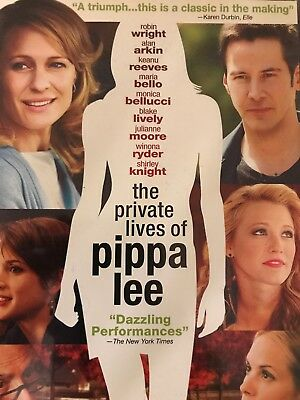 The Private Lives of Pippa Lee (DVD, 2010) BRAND NEW! FACTORY SEALED! Romcoms