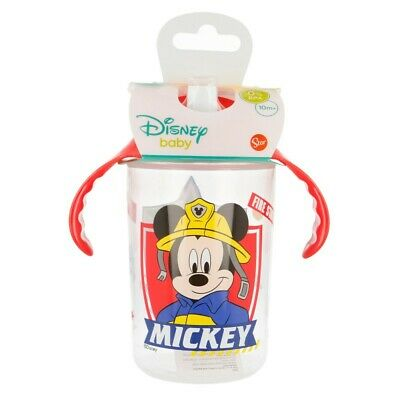 VASO ENTRENAMIENTO BEBÉ TRANSPARENTE 360 ML. Mickey Mouse TO THE RESCUE