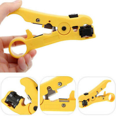 Rotary Coax Coaxial Stripping Cable Wire Stripper Cutter Tool RG59 RG6 RG7 RG11