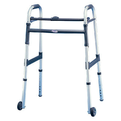 "INVACARE 1 EA Dual-Release Junior Paddle Walker with 5"" Fixed Wheel CHOP"