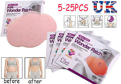 25PCS MYMI Wonder Patch Fat Burner Slimming Patch Belly Wing Weight Loss #UK