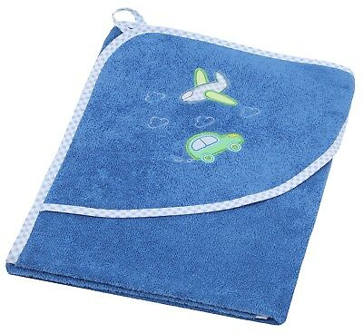 Betz Kids Hooded Bath Towel CAR AND PLANE 100% Cotton