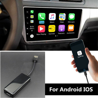5V USB Smart Link Apple Carplay Dongle Box For Android IOS DVD Radio Player GPS
