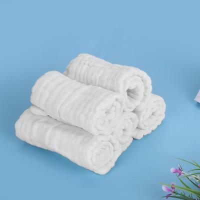 12 Layers Cotton Gauze Reusable Washable Baby Cloth Diaper Nappy Liners Inserts