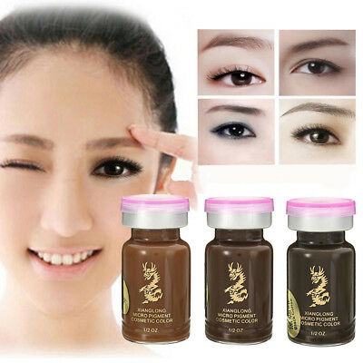 Microblading Semi-Permanent Eye Brow Liner Makeup Pigment Ink Emulsions Frugal