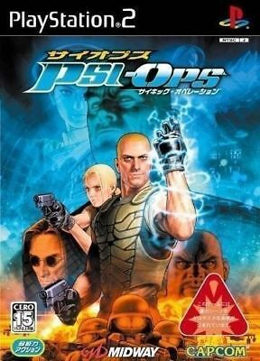 PS2 Psi-Ops: The Mindgate Conspiracy Japan Import Game PlayStation 2 P/S