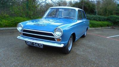 MK1 CORTINA GT 2DR, 1500 Not lotus cortina, Rare