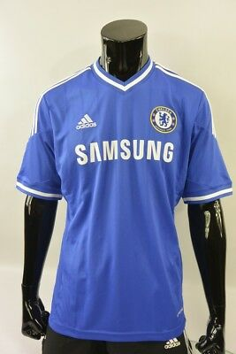 The Blues 2013-2014 adidas Chelsea FC Home Shirt Football Jersey SIZE L (adults)