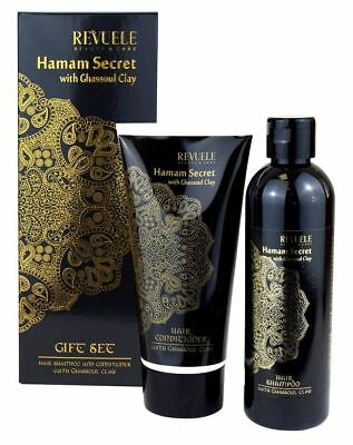 Hamam Secret with Ghassoul Clay | Hair Shampoo 250ml + Conditioner 200ml