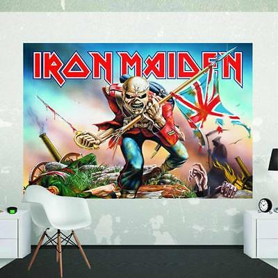 34276b581c3755 Official Iron Maiden - The Trooper - Giant Poster Wall Mural - (2.32m x 1.58