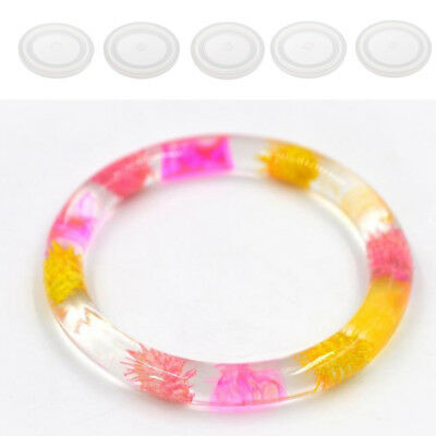 LARGE DIY ROUND Silicone Mould Mold Resin Curve Bangle