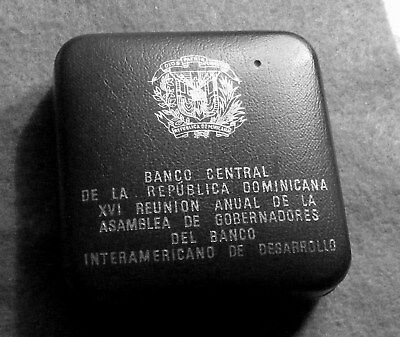 1975 Dominican Republic 10 Peso Proof KM# 37