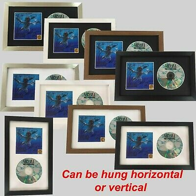 Cd / Music Album Cover Signed Memorabilia Picture Frame With Glass And Mount.