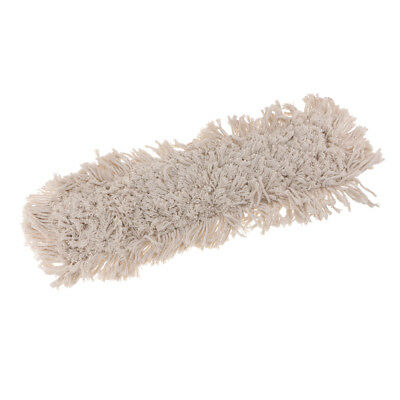 Industrial Strength Washable Cotton Dust Mop Refill Replacement Head 60x16cm