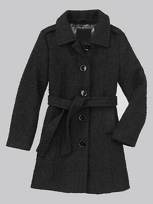New Gap Boucle Trench Coat Size Xs 4/5 S 6/7 M 8