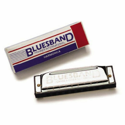 HOHNER BLUES BAND HARMONICA 1501 Key of C ~ A Favorite