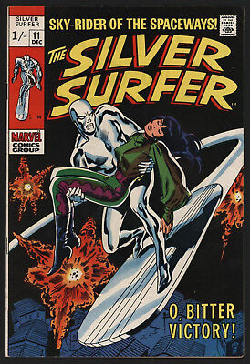 Silver Surfer #11 Dec 1969, John Buscema Art, Very Glossy!