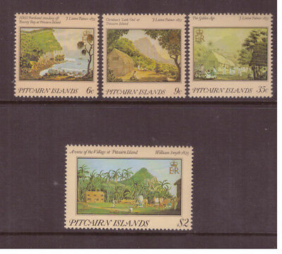 Pitcairn Islands MNH 1985  Nature Landscape Art  set mint stamps