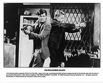 The Replacement Killers Movie Stills 1 B&W Photo 4 Color Slides Chow Yun-fat Woo