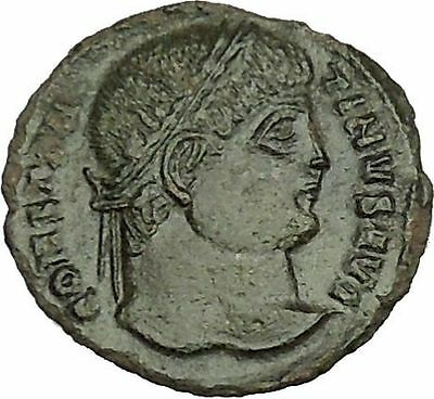 Constantine I the Great  326AD Ancient Roman Coin Military camp gate  i40006