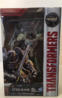 Transformers The Last Knight Steelbane deluxe class movie figure