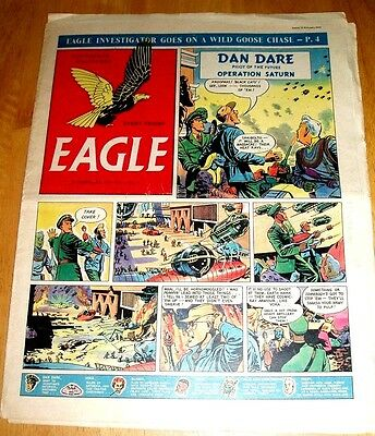 Eagle Comic Vol 5 #7 12/2/1954 With Hydro Electric Power  Cutaway Drawing