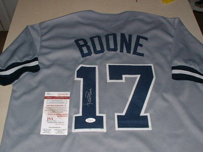 2ca71ea6 Aaron Boone Signed, Autographed New York Yankees Jersey,All Sewn Nice Auto  Cpix