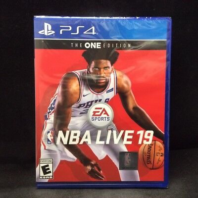 NBA Live 19 - The ONE Edition (Sony PlayStation 4) BRAND NEW / In Stock